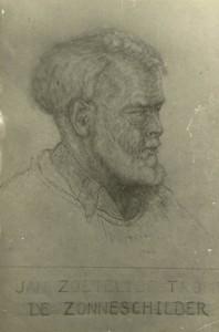 portret van JZT door M. van der Dussen